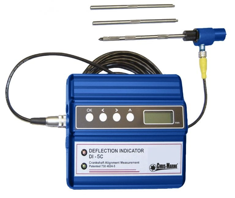 Electronic Crankshaft Deflection Indicator - DI-5 & DI-5C