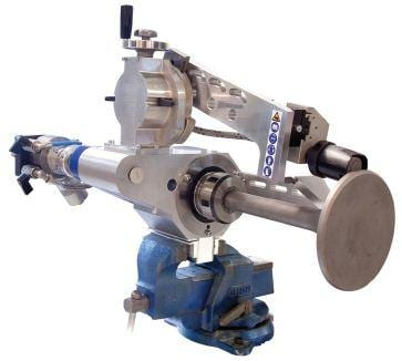 The PVG is designed to be mounted either horizontal or vertical in for instance a vice
