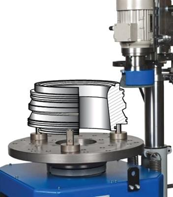 Valve Spindle and Seat Grinding Machine - LBD