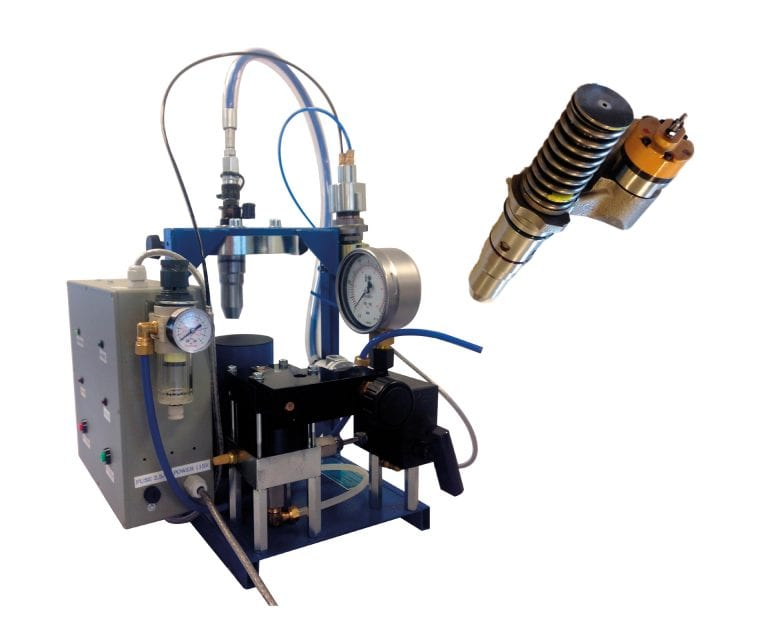 Fuel Valve Test Rig / VPU 900 CAT